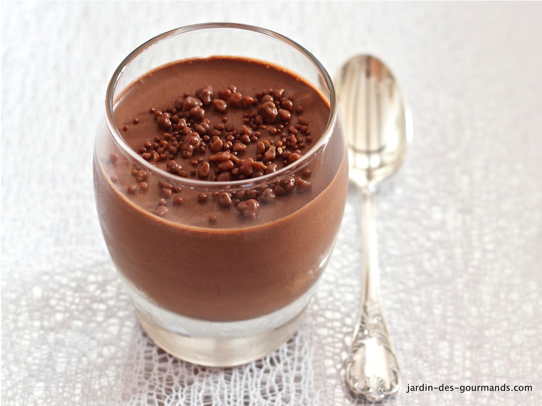 cach lam mousseau chocolat