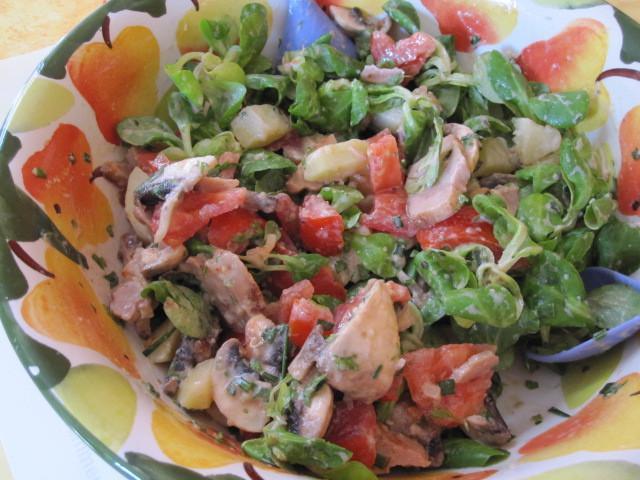 cach lam salade valencia